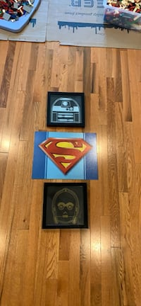 Superman and Star Wars Signs