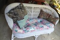 Ratan with pillows, seats two Dover, 03820