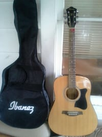 Ibanez ij50 acoustic guitar with gig bag Trenton, 08611