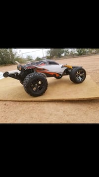red and white RC car Victorville