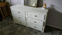 white wooden 6-drawer chest West Chester, 19380
