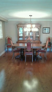brown wooden dining table set Toronto, M1K 4E3
