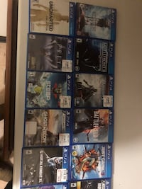 PS4 games and movies