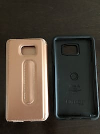 Note 5 otter case + fliptop