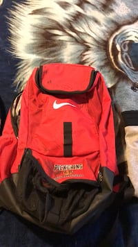red and black Nike backpack Discovery Bay, 94505