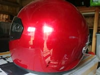 red and black full face helmet Richmond Hill, L4C 4S8