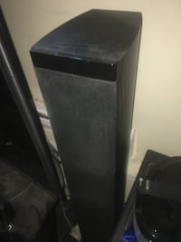 Two tower speakers