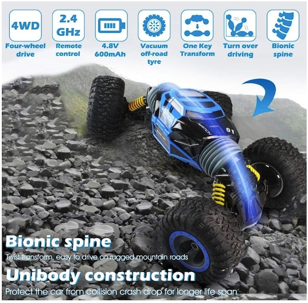 Monster Truck Rc Cars >> Brand New Seal In Box 4wd 2 4ghz 1 16 Rc Car Off Road Vehicles Remote Control Rock Crawler Cars Buggy 2 4ghz 1 16 Monster Truck 4wd Electric Racing
