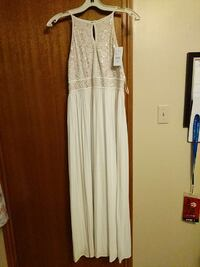 White dress from Laura, size 12 Ontario, L4L 6L1
