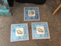 Set of 3 beachy themed wall decor College Station, 77845