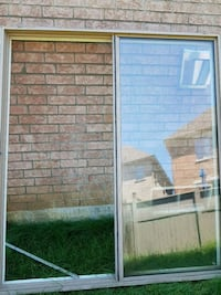 white and brown wooden framed glass door Brampton, L6Y 5T2