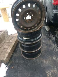 Rims for sale. 17x7   5x127 came off from dodge journey  Toronto, M1P 5A8