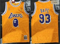 Bape Lakers Don & Mitchell Jersey  Surrey, V4N 1B6