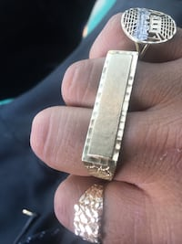 10k solid gold double ring Pasadena, 91106