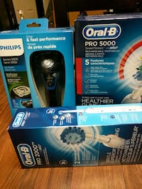 Electronic toothbrush and shaver  Surrey, V3S 0L2