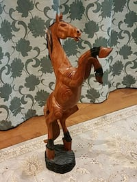 Brown Wooden Running Horse 35 inch tall  best offe Mississauga, L5C 1G5