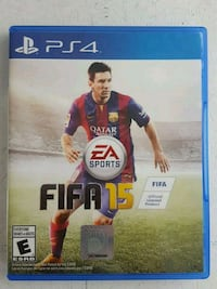 FIFA 15 PS4 game case