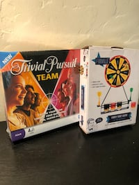 New trivial pursuit and dart board games San Francisco, 94116