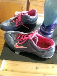 Pink an black nike shoes size 9 Augusta, 30906