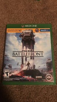 Star Wars Battlefront Xbox One game case and game