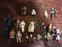 assorted Star Wars character action figures Anderson, 46011