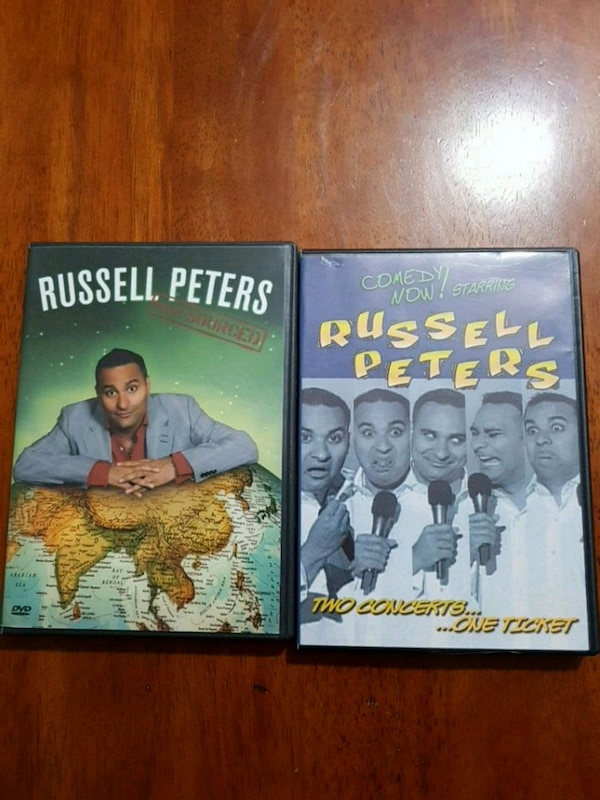 RUSSELL PETERS DVD
