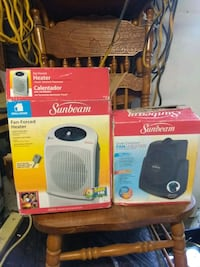 brand new small electric fan heaters $$35 dollars  Charlotte, 28215