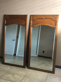 LARGE MIRRORS WITH AUTHENTIC WOODEN FRAMES