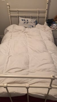 Single Bed frame and single  mattress Calgary, T3R