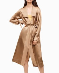 Aritzia Le Fou Wilfred Mercier jacket silk trench Toronto, M6G