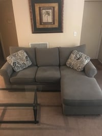 Gray fabric 3-seat sofa in perfect condition, got a new sofa and selling the old one Raleigh, 27612