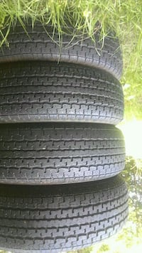 SET OF 4---14 INCH TRAILOR TIRED