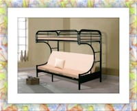 Bunkbed Twin Futon New with Mattress Silver Spring, 20906