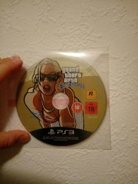 Grand Theft Auto San Adreas PS3 Scheibe