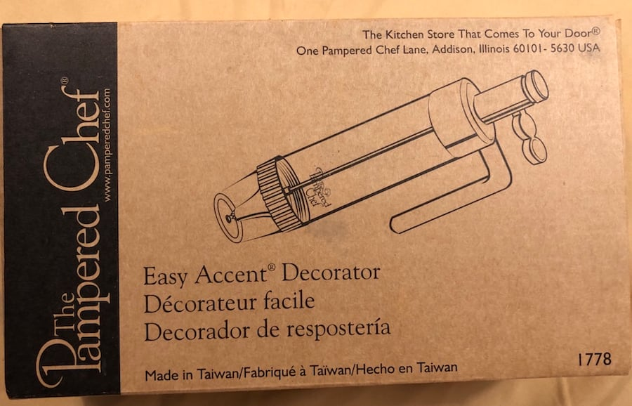 Pampered Chef Easy Accent Decorator 1778 0