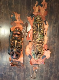 African masks set Calgary, T3A 5L7
