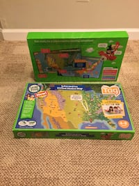 Leap Frog Tag Interactive US Map. Woodbridge, 22191