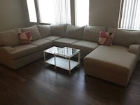 3 piece sectional with chaise  Las Vegas, 89113