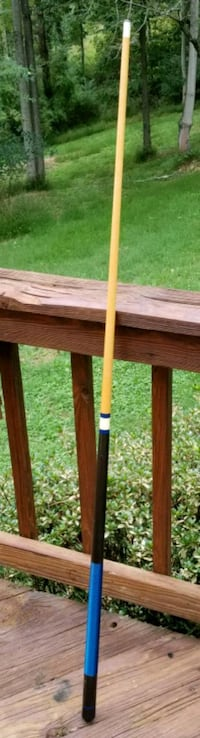 Harvard pool cue 18 oz blue black Frederick