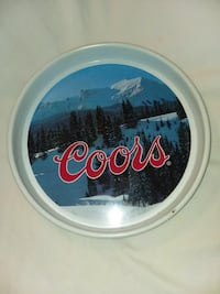 round Coors beer decorative plate Gulfport, 39501