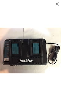 new makita double rapid charger