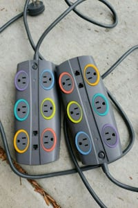 Multi outlet surge protector (2)  San Diego, 92111