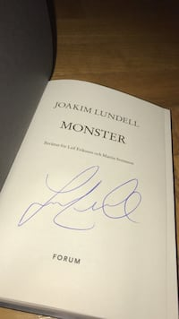 Joakim Lundell Monster bok