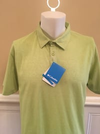 Men's Columbia Golf Shirt- Size Large-NWT 594 mi