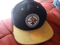 black and yellow Golden State Warriors fitted cap Falconer, 14733