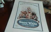Walt Disney's Snow White and the Seven Dwarfs poster Shoemakersville, 19555