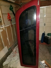 red and black wooden display cabinet Sacramento, 95828