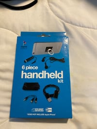 6 pc handheld kit for Apple or Samsung Gadgets