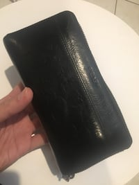 Authentic Accordion Zip Wallet Signature Real Leather Vancouver, V5N 1W7