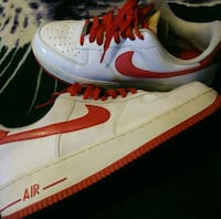 Nike's g red & white New London, 06320
